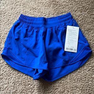 """Lululemon Hotty Hot 4"""" Lined Shorts"""